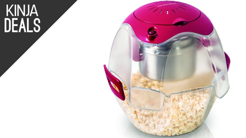 Illustration for article titled Step Up Your Movie Nights With This Discounted Popcorn Popper