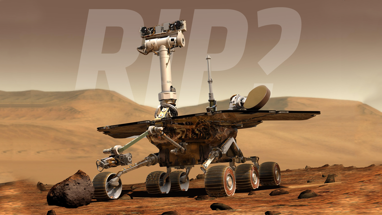 The Plucky Opportunity Rover May Finally Have Died On The