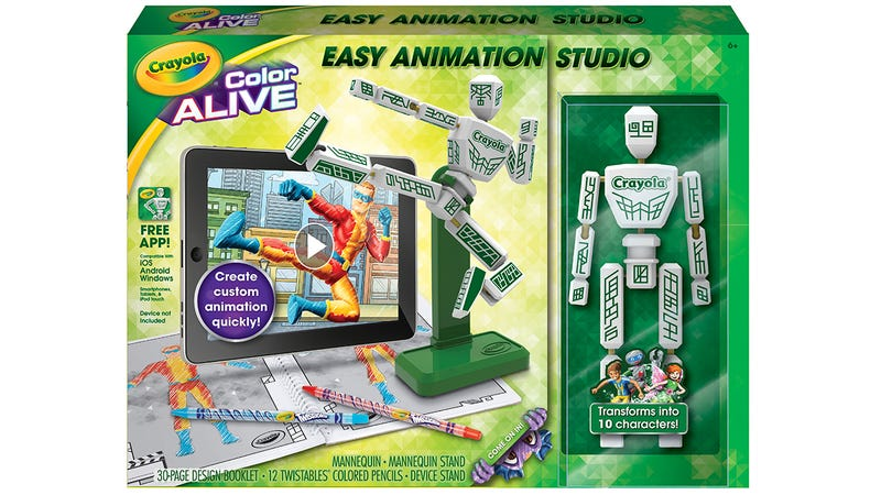 Illustration for article titled Crayola's Easy Stop-Motion Animator Will Inspire Young Ray Harryhausens