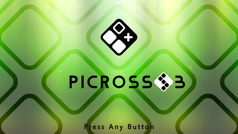 Picross S3 releases April 25th for the Nintendo Switch
