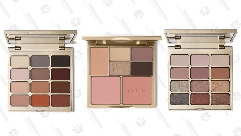 Stila Eyes Are the Window Eyeshadow Palette | $25 | UltaStila Perfect Me, Perfect Hue Eye & Cheek Palette | $20 | UltaStila Matte 'N Metal Eyeshadow Palette | $25 | Ulta