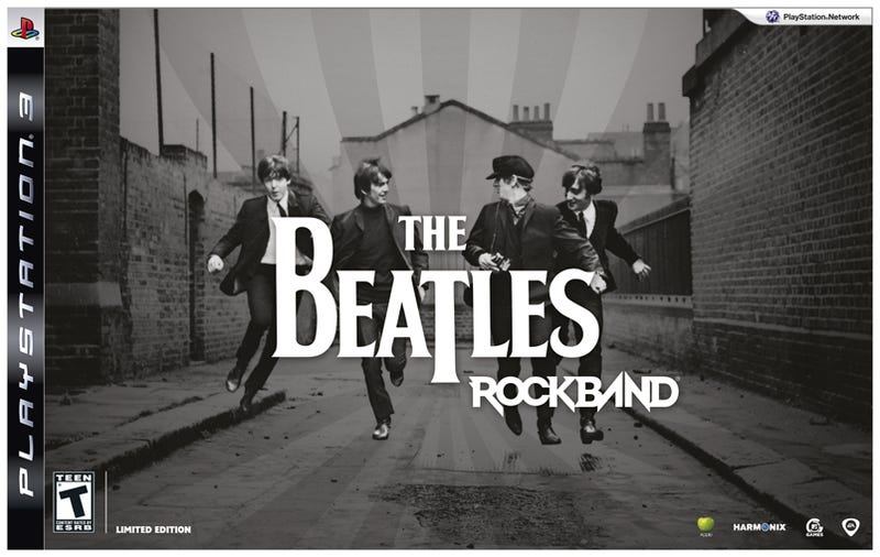 Illustration for article titled The Beatles: Rock Band Priced For Europe