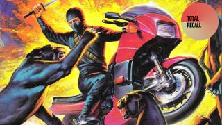Illustration for article titled What's Cooler Than Sam Fisher? Lady Ninjas, Motorbikes and Pumas