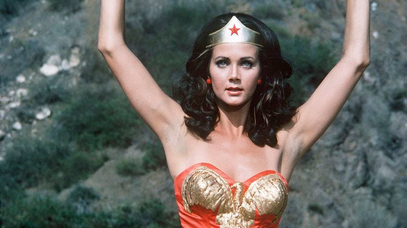 Illustration for article titled Wonder Woman dresses too sexy to be a role model, UN rules