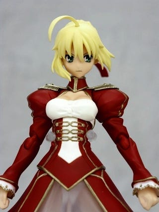 Illustration for article titled What Do You Notice About This Fate/EXTRA Figure?