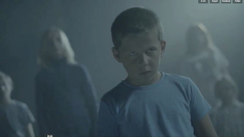 """Illustration for article titled Today in music videos: M83 gets creepy with telekinetic kids in """"Midnight City"""""""