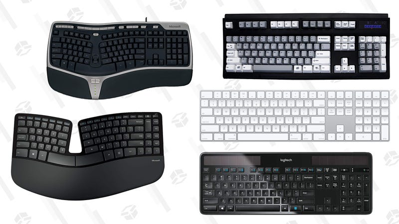 Microsoft Natural Ergonomic 4000 Microsoft SculptUnicomp Ultra ClassicApple Magic KeyboardLogitech K750