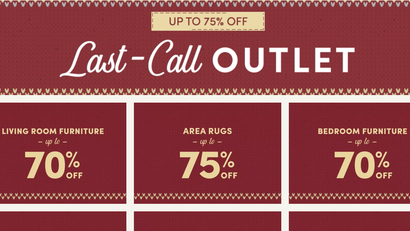 Up to 75% Off Last-Call Outlet | Wayfair