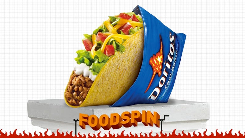 Illustration for article titled Taste Test: Will Dorito-Sheathed Tacos Be The End Of Us All?