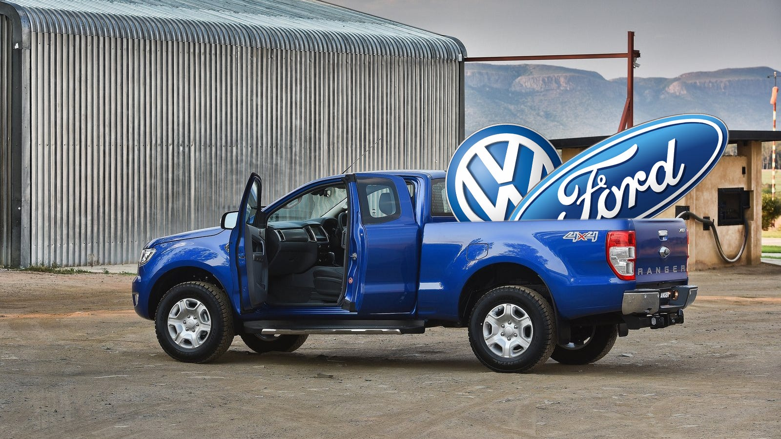 vw ford pickup truck  coming      north america