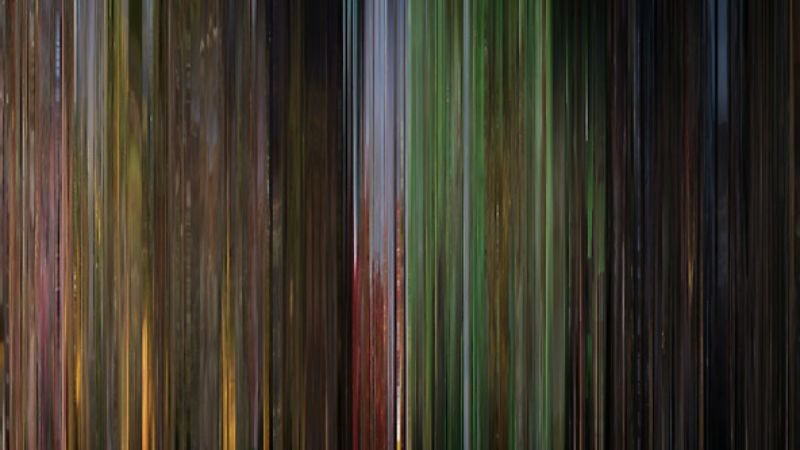 Illustration for article titled Movie Barcode turns popular films into abstract art