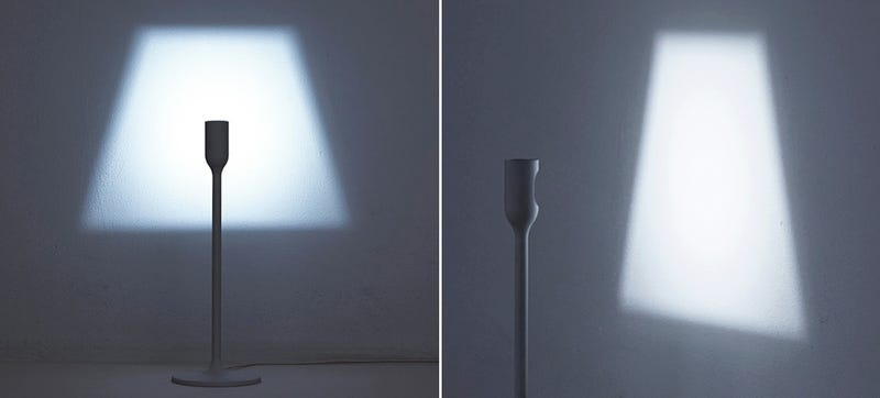 A clever lamp without a bulb that still projects a classic silhouette you can buy light bulbs with every kind of color temperature brightness and finish you can imagine these days so the need for a lamp shade to diffuse mozeypictures Gallery
