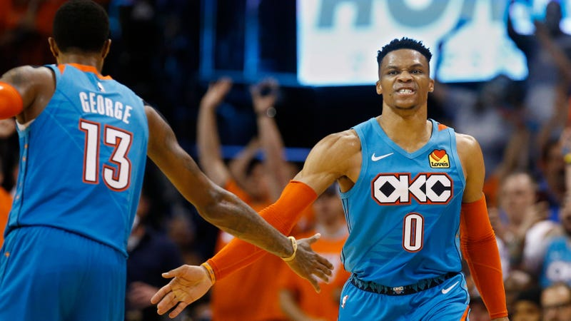 The Thunder Really Enjoyed Their Flukey Shooting Night Against The Blazers