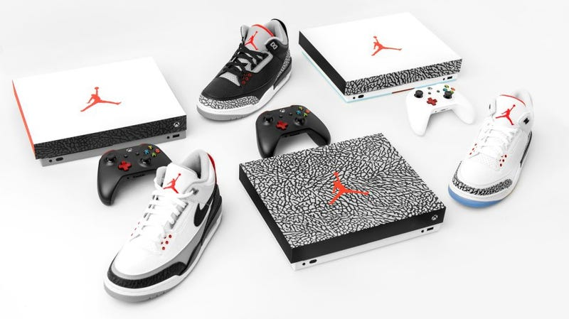 Illustration for article titled When Air Jordan Met Xbox