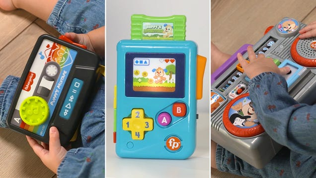 Fisher-Price s New Toys Will Teach Your Kids About the Glory of  80s Gadgets