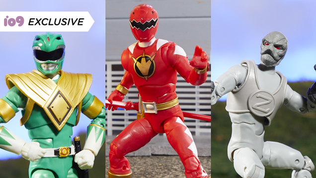 Tommy Oliver Leads the Charge in Hasbro s Next Wave of Power Rangers Action Figures