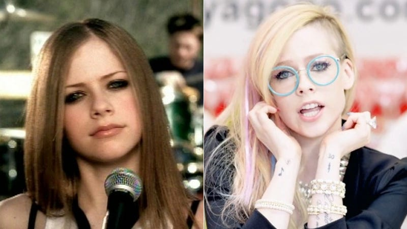 Illustration for article titled Conspiracy Corner: The Real Avril Lavigne Is Dead. The Avril You Know Is a Body Double.