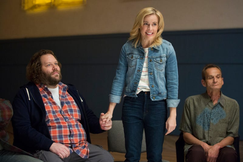 Ólafur Darri Ólafsson and Maria Bamford star in Lady Dynamite (Photo: Beth Dubber/Netflix)