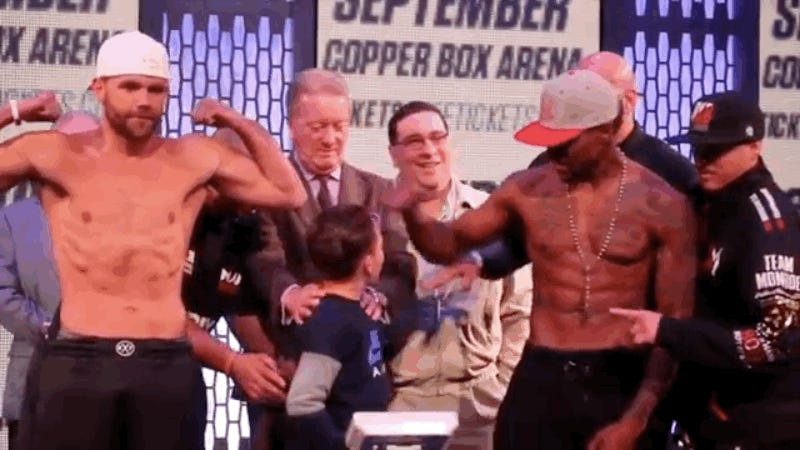 Boxer Punched by Opponent's Son in Groin During Weigh