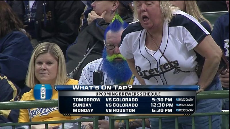 Illustration for article titled These Brewers Fans Are Especially Concerned About What's On Tap