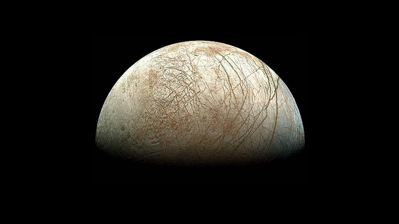 Illustration for article titled NASA plans a robotic mission to search for life on Europa