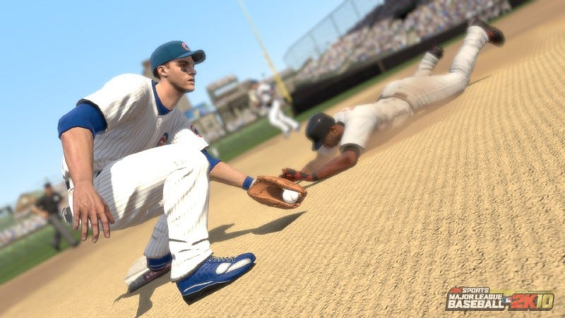 Illustration for article titled Major League Baseball 2K10 Review: Pitching With Two Strikes