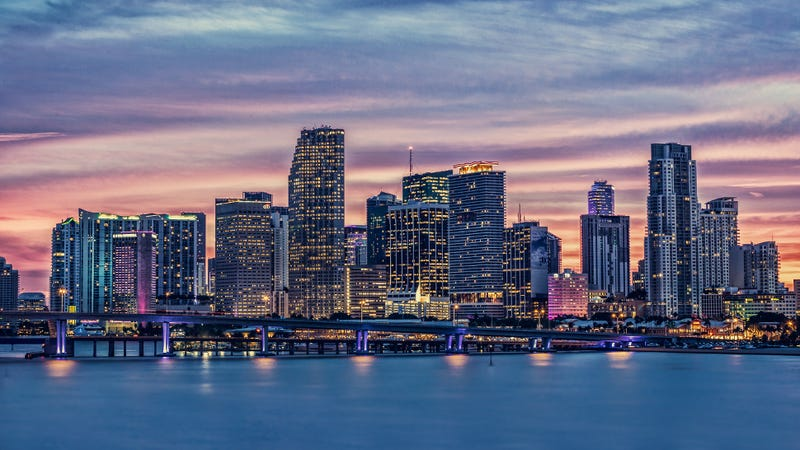 The beautiful Miami skyline...but for how much longer? (Image: Shutterstock)