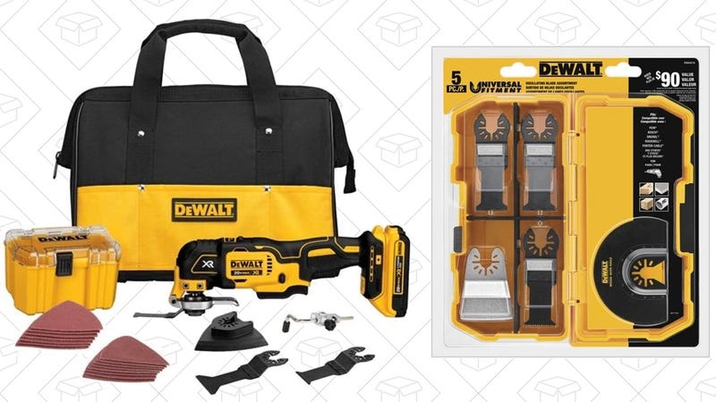 Illustration for article titled This DEWALT Bundle Is One of the Best Tool Deals of the Year