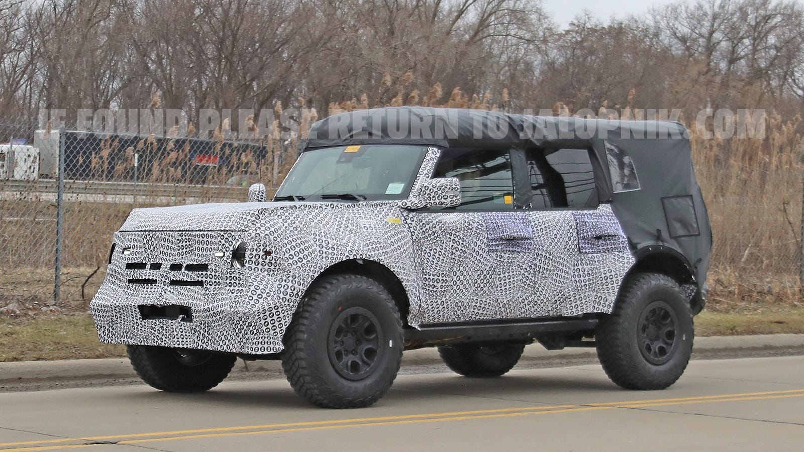 2021 Ford Bronco: Here Are Some Spy Shots