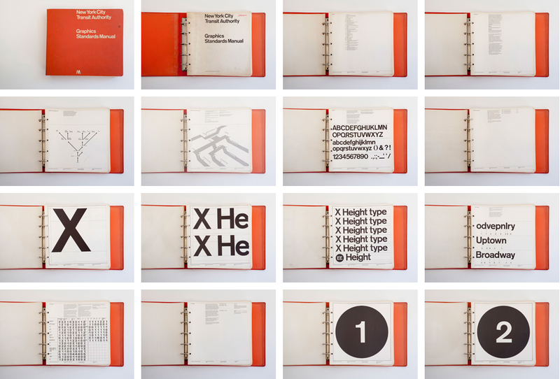 Illustration for article titled Style Guide Nerds Rejoice: It's the MTA Graphics Standards Manual from 1970