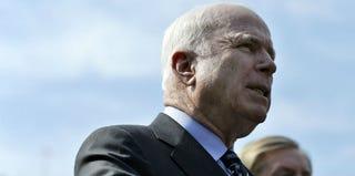 Sen. John McCain (Jewel Samad/Getty Images)
