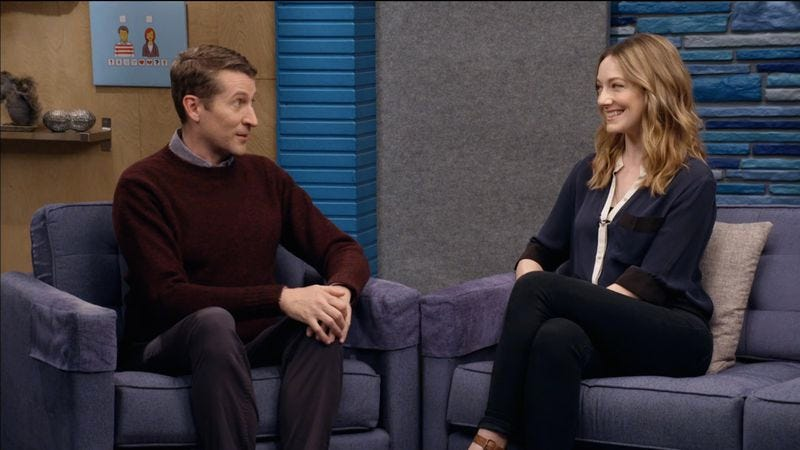 Scott Aukerman, Judy Greer (IFC)