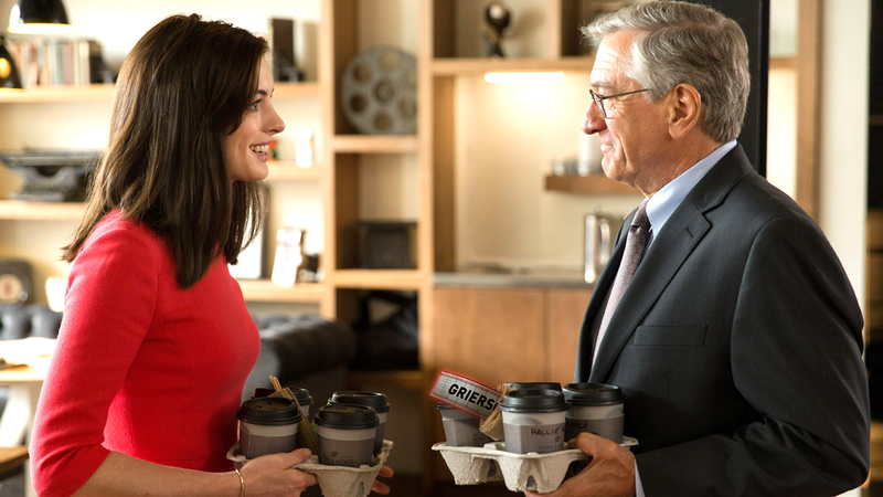 Illustration for article titled Robert De Niro Redeems The Dopey Fantasy That Is The Intern