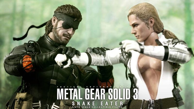 Illustration for article titled Naked Snake and The Boss Have Never Been So Amazingly Lifelike