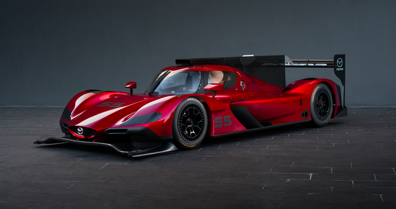 Mazda's Gorgeous RT24-PRacecar Will Make You Never Want To Miss A Single Race