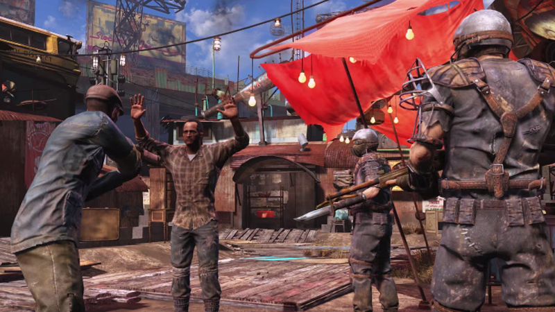 fallout 4 has lots of bugs reviewers say update