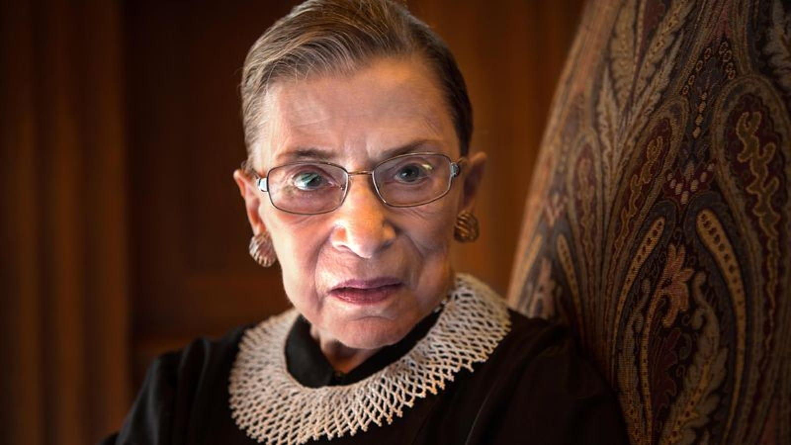Ruth Bader Ginsburg Debating Whether To Cancel Winter Vacation Climbing K2