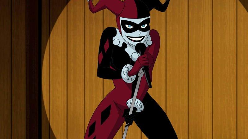 Harley Quinn in Batman and Harley Quinn.