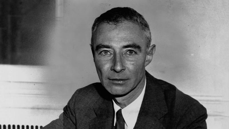 Illustration for article titled Newly Unearthed Journals Reveal J. Robert Oppenheimer Annoyed Trinity Test Researchers By Quoting 'Bhagavad Gita' Every Time They Did Anything