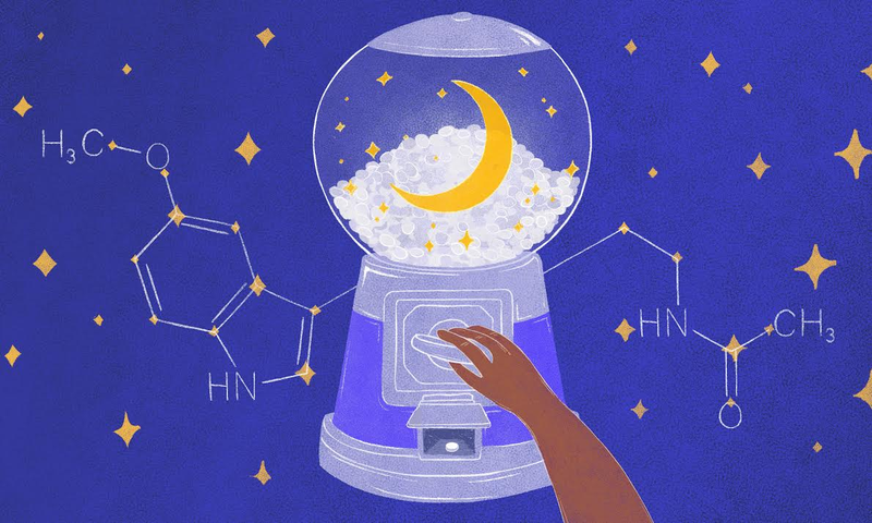 Illustration for article titled How Melatonin Helps You Sleep