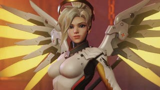 Illustration for article titled Overwatch 'Shippers Clash Over New Mercy, Genji Voice Lines