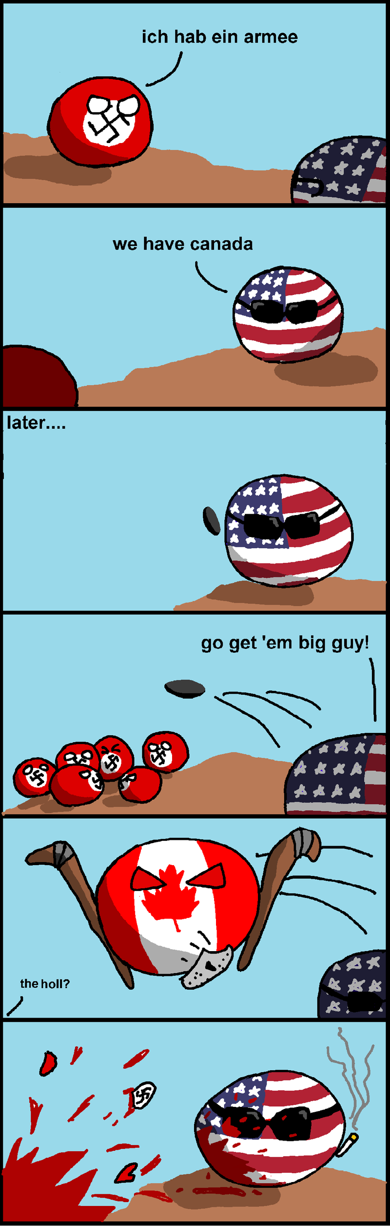 Illustration for article titled Here's some Polandball for you.
