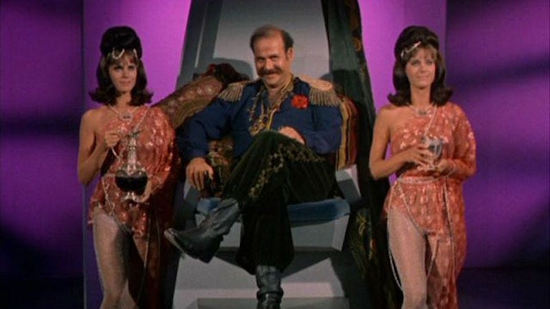 "Image: Harry Mudd in Star Trek's ""I, Mudd"" (CBS)"