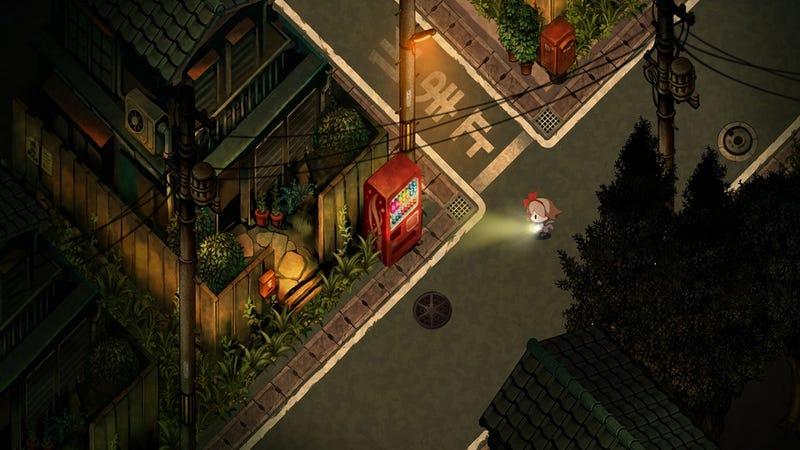Illustration for article titled Yomawari Makes Japan at Night Both Creepyand Beautiful