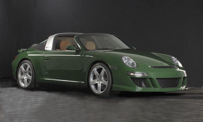 Illustration for article titled RUF eRuf Greenster Electric Porsche Zaps Geneva