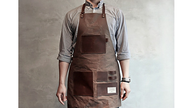 Illustration for article titled The Gentleman's Apron: Look Suave, Get Dirty