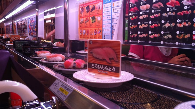 YouTube Video Causes Sushi Restaurant Chain To Ban Photography