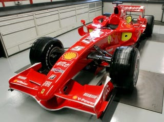 Illustration for article titled Ferrari A1GP Car to Be Based on F2007 Racer