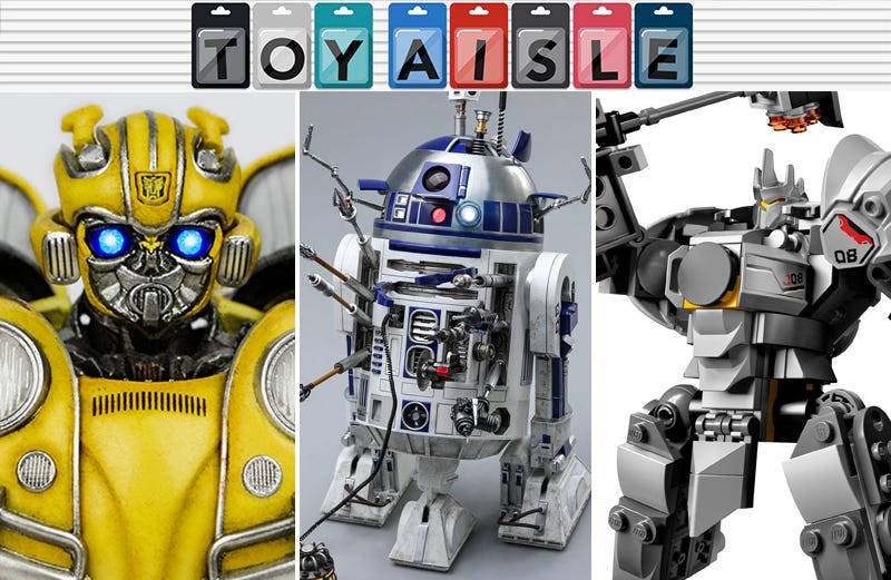 Illustration for article titled Lego Overwatchand a Souped-Up R2-D2 Are the Mightiest Toys of the Week