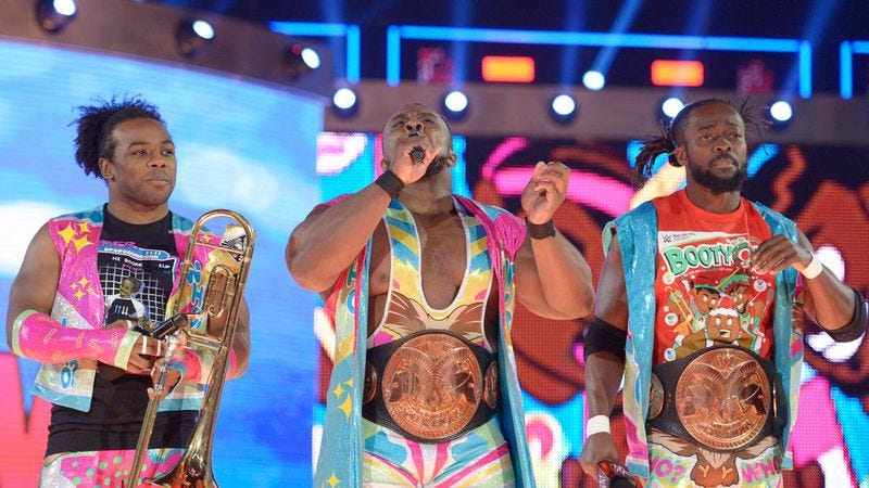 Illustration for article titled New Day earned the tag team record, even if Raw's storytelling didn't